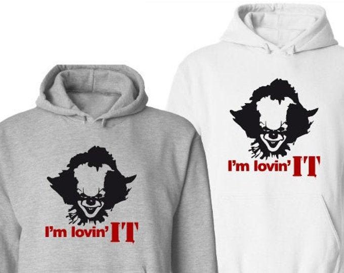 I'm Lovin It Halloween Hoodie-Mens Halloween Hoodie-Scary Shirt-Gift Idea for Men-Halloween Party-Unisex Halloween Shirt