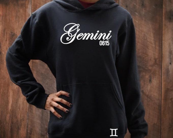 Gemini Birthday Women's Hoodie Personalized