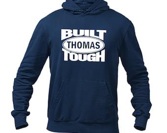 Built Tough Family Personalized Hoodies-Custom Family Hoodies-Group Hoodies