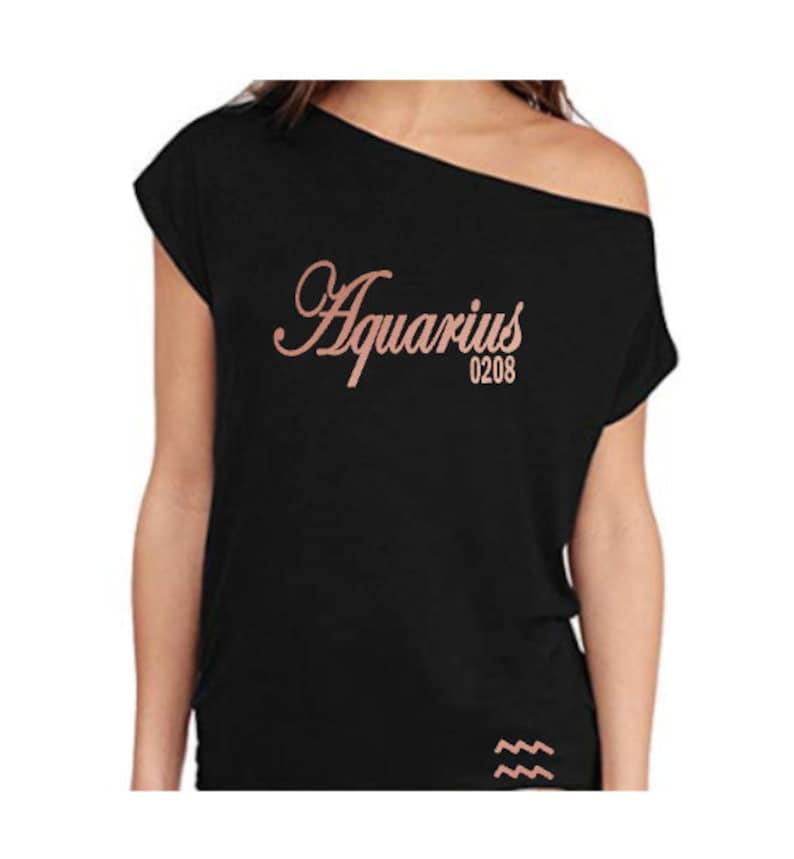 Women's Birthday Shirt-Gemini Zodiac Shirt-Off the image 0