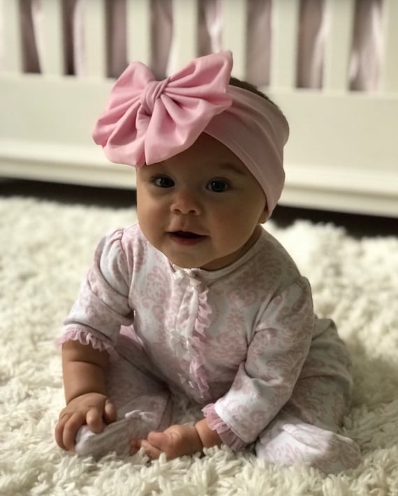 Baby Headwraps Baby girl Head wraps set baby bows baby bow  43d5343ced0