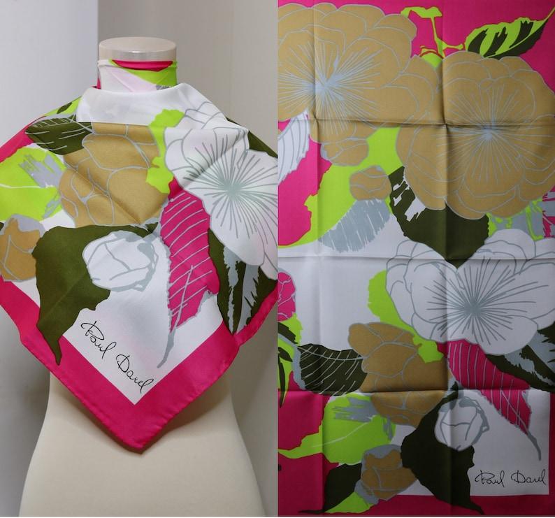 WOMENS LADIES BOLD FLORAL FLOWER GREY PRINT FASHION DESIGN SCARF