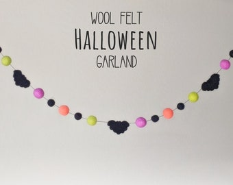Halloween Garland - Halloween Bat Garland