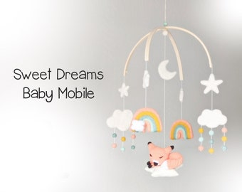 Sweet Dreams Baby Mobile : Woodland Baby Mobile
