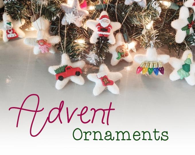 Advent Calendar : 25 Christmas Ornaments for Advent