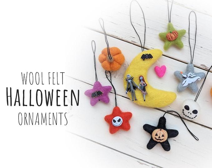 Nightmare before Christmas decorations : Halloween Tree Ornaments