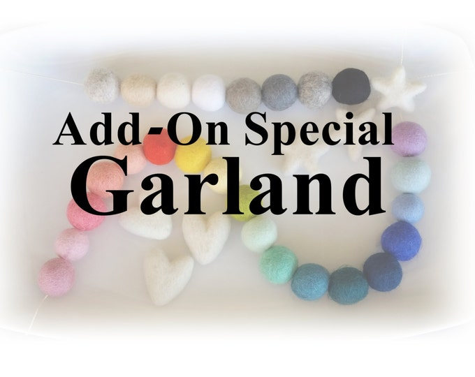 Add a garland to your mobile purchase