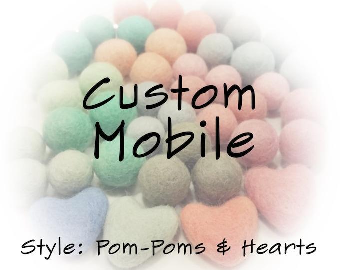 Customize / Upgrade your Pom Pom + Heart Mobile