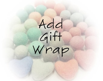 Add-On: Gift Wrap your item!
