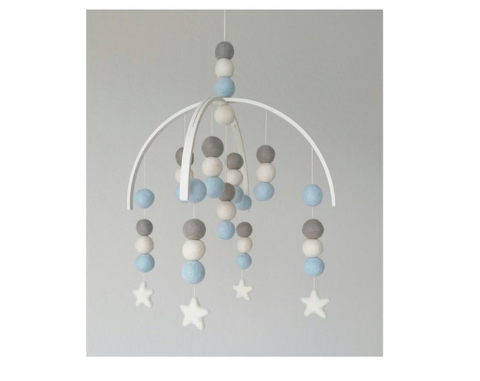 Baby Mobile : Night Sky Star Baby Mobile