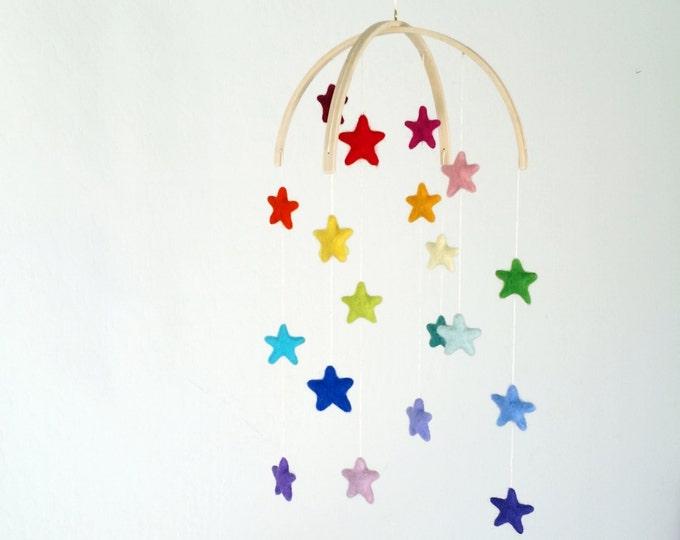 Baby Mobile : Rainbow Stars