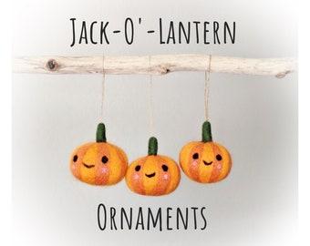 Whimsical Halloween Decor: Pumpkin Ornaments