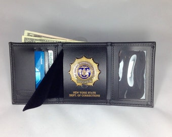 Trifold wallet with credit card slots