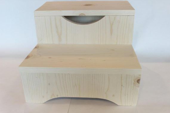 Admirable Childrens Stool Two Step Stool Bathroom Stool Kids Stool Wooden Foot Stool 14 Inch 2 Step Stool 2 Step Childs Stool Gmtry Best Dining Table And Chair Ideas Images Gmtryco