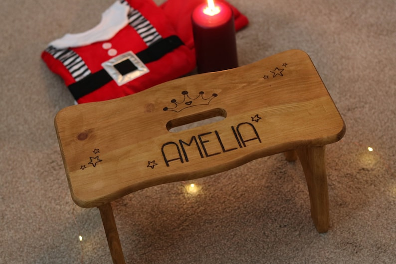 Excellent Childrens Stool Engraved Stool Wood Stool Kids Step Stool Toddler Stool Childs Stool Kids Stool Step Stool Pdpeps Interior Chair Design Pdpepsorg