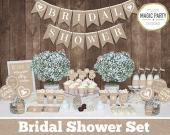 bridal shower decorations rustic bachelorette party decors bride to be set bridal party decors