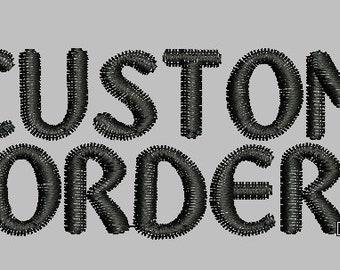 Custom pdf applique etsy