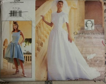 41ac7ba5c6e Carolina Herrera Vogue Bridal Collection  1776