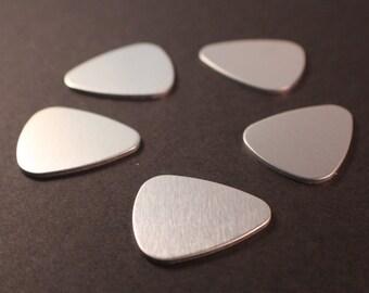 """Aluminum Stamping Blank 1"""" Guitar Pick"""