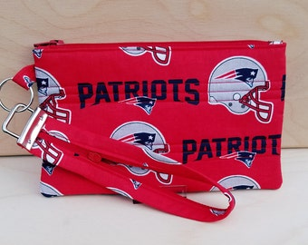 Game Day Wristlet New England Patriots