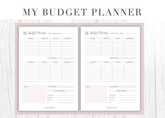 a4 printable business planners daily and weekly planner etsy