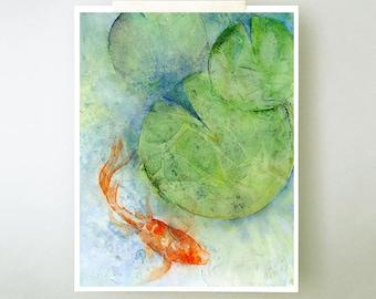 Koi Fish Art Prints