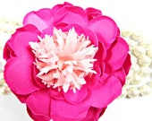 Tulip Peony Paper Flowers DIY Flower Patterns Templates Video Tutorials Pink