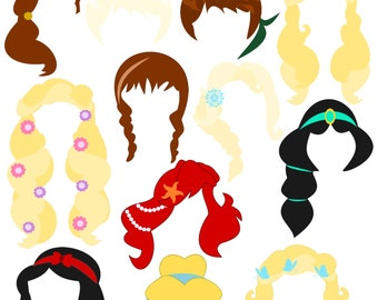 graphic relating to Disney Princess Photo Booth Props Free Printable called Princess topic get together Etsy