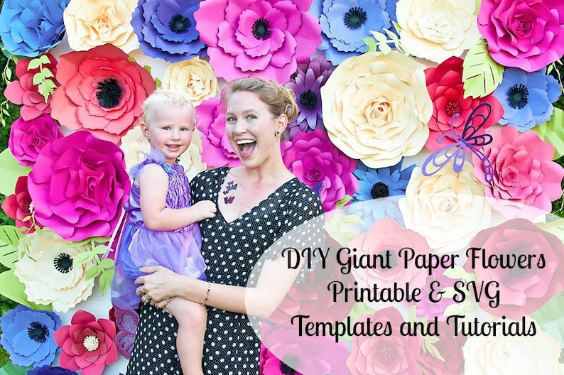 Giant Paper Flower Wall Giant Flower Templates Tutorials Large Paper Flower Wall Giant Paper Flower Backdrop