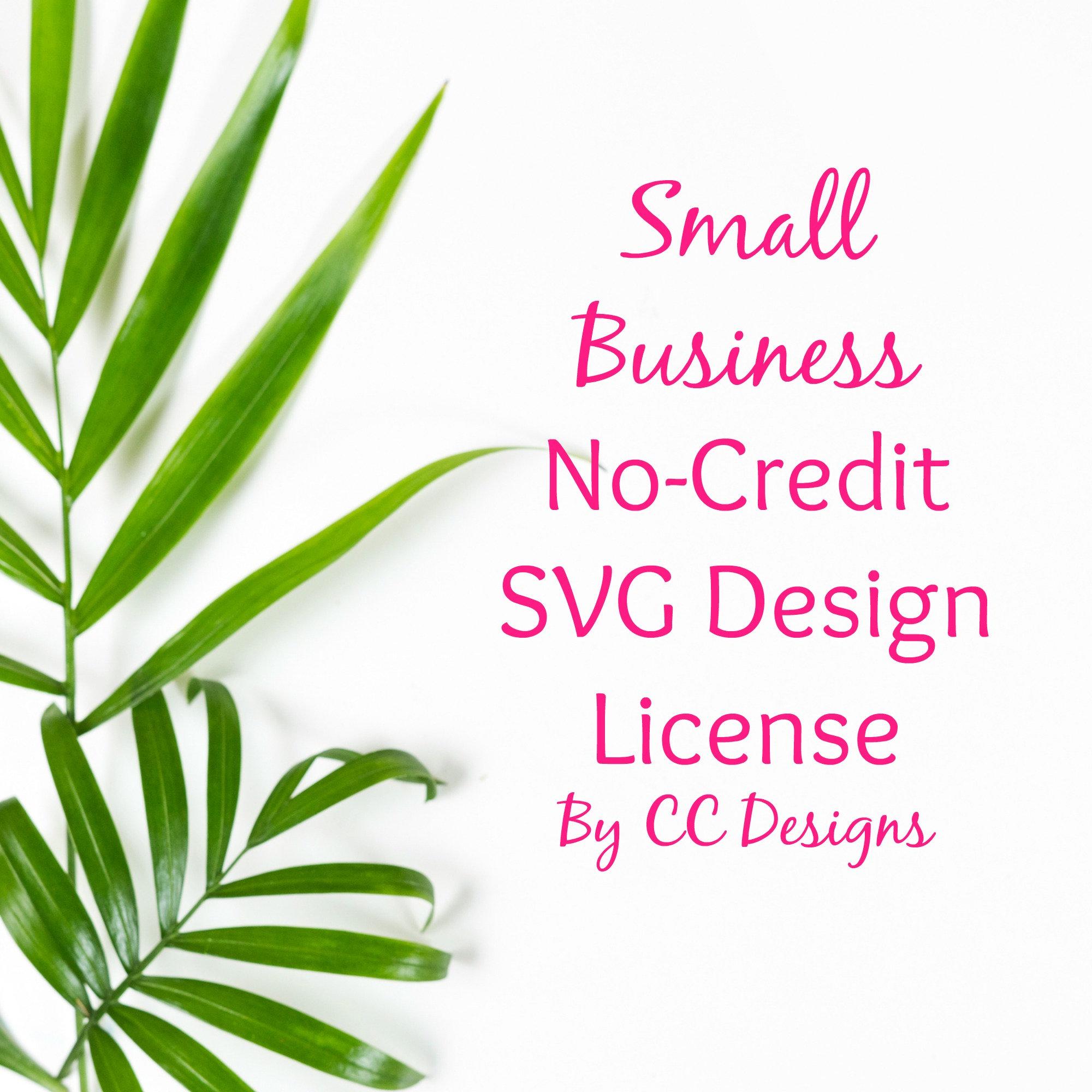 1000 Uses Per Design Commercial Use License SVG files Small Business Commercial License for 1 Design of Starbucks SVG File