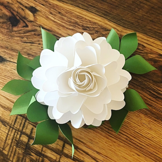 Easy diy paper roses paper rose template and tutorial paper rose il570xn maxwellsz
