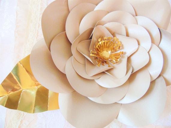 Riesen Mohn Papier Blume DIY Vorlagen DIY Blume Hintergrund