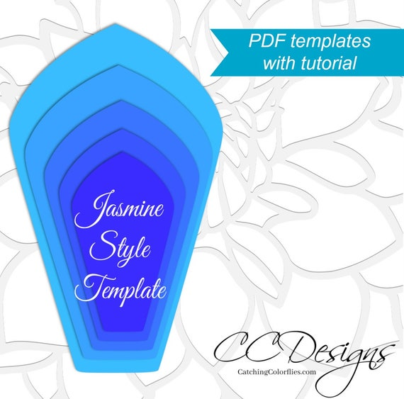 Design Patterns By Tutorials Pdf: Printable Giant Paper Flower Templates Large Paper Flower Patterns rh:catchmyparty.com,Design