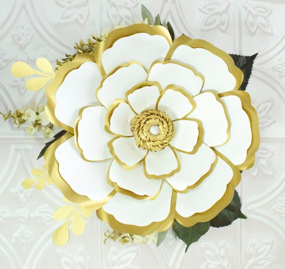Large paper flowers giant paper flower patterns tutorials etsy image 0 mightylinksfo