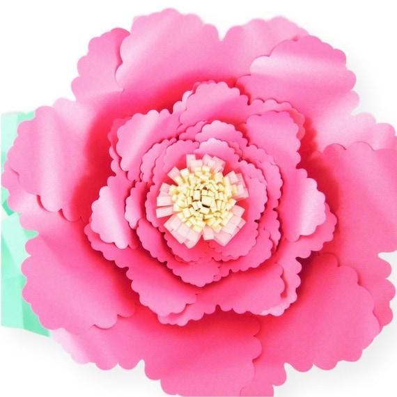 Giant paper flower templates diy paper flowers svg flower cutting il570xn mightylinksfo
