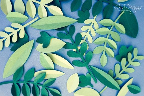 photograph relating to Printable Stencil Paper titled Jungle Safari Leaf Templates, Printable Jungle Leaf