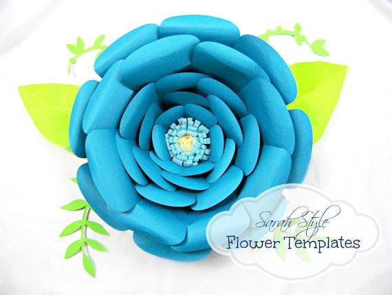 Giant Flower Templates Flower Patterns Tutorials DIY Giant