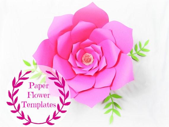 diy wedding paper flowers flower templates svg cut files backdrop