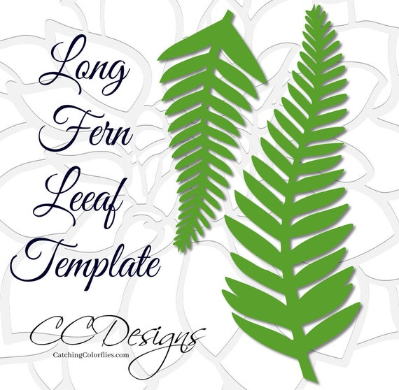 large leaf template paper flowers svg files giant paper flowers
