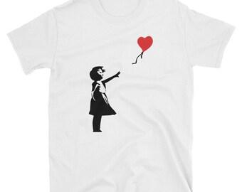 Banksy Letting Love Go T-Shirt