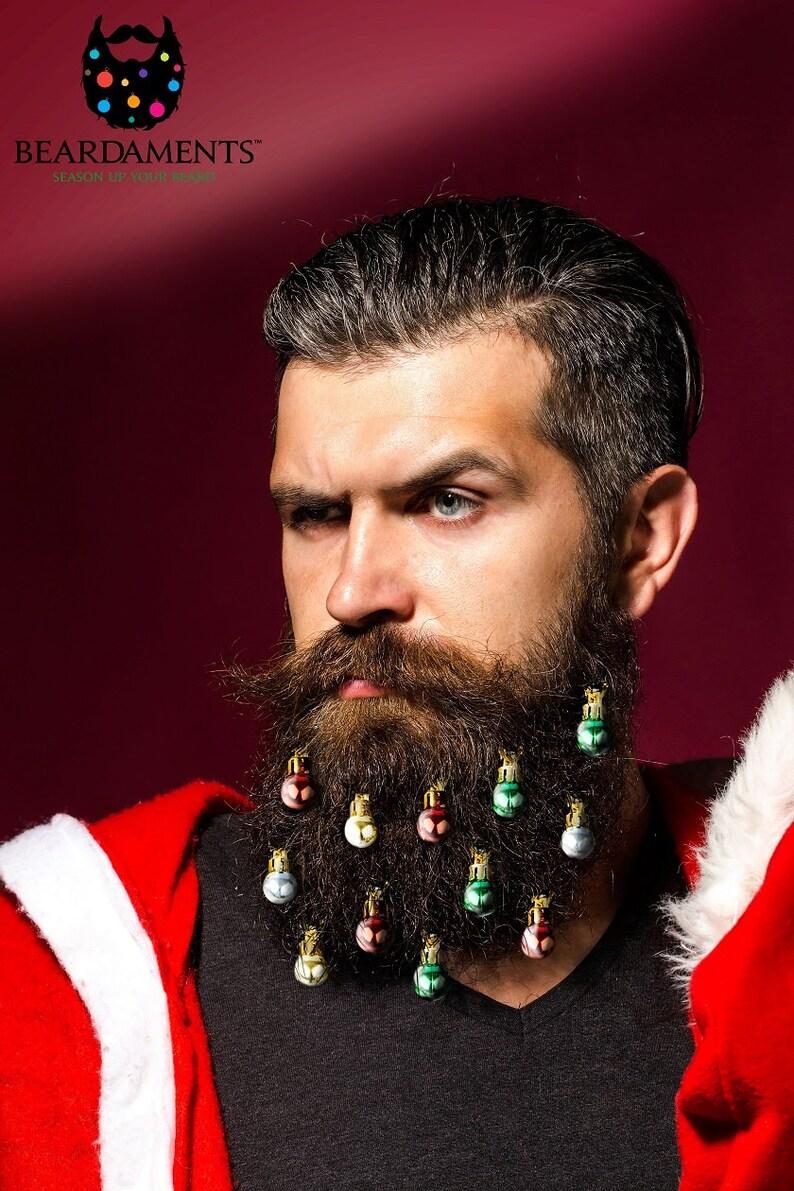 12b17e386a7 Beardaments Beard Ornaments Ugly Christmas Party Christmas