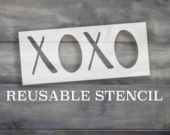 XOXO STENCIL | Laser Cut | Reusable | Multiple Sizes | Fast Shipping | International