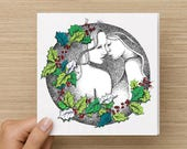 Christmas Cards - A Christmas Wish - Mrs & Mrs - Lesbian Card - Gay Pride Card, Christmas gifts for women