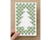 Christmas Card - Christmas Tree - Illustration by Cobie Ann Moore