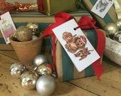 Christmas Gift Tags Pack - Christmas Illustration - Christmas Gift Wrapping Ideas
