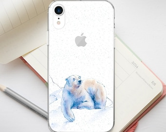 21b5c5e396 Winter iPhone Case iPhone X Case iPhone XR Case iPhone XS Max Case iPhone  6S Plus Pixel 3a Polar XL Bear iPhone 7 Plus Case iPhone 6 PP1301