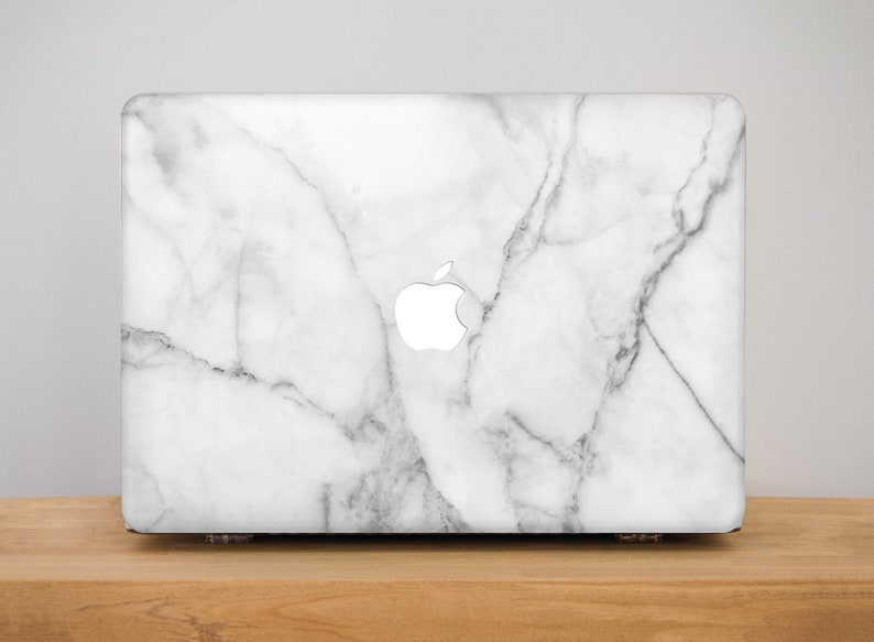 new style 09f2b eeccf White Laptop Case Macbook Pro 13 Marble Macbook Air 13 2018 Case Mac Book  Air 13 Shell Mac Book Pro Case Macbook Air Case With Design PP6025