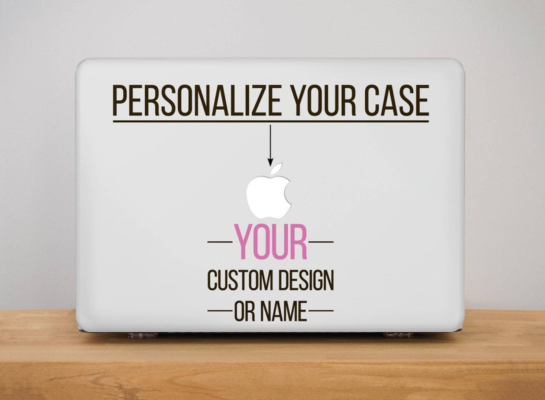 newest 7f5e9 33010 Custom Macbook Pro Hard Case Macbook Air 13 Hard Case Custom Name Macbook  Pro Retina Hard Case Macbook 15 inch Hard Case Macbook 12 PP2000