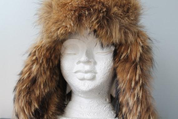 Fur Hat /Fur Trapper Hat /Russian Fur Hat /Fur Hel