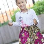 Toddler gift, Toddler skirts, African clothing, African toddler skirt, Ankara Toddler skirt, African baby skirt, Girl skirt, Girl Toddler